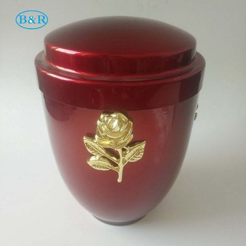 U001 Metal funeral Urn ,cremation urn for human ashes size 26*18.5 cm funeral supplies